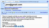 Prevent phishing scam emails