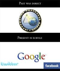The direct past vs. the subtle present
