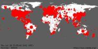 Worldwide replication of 'Code Red' worm