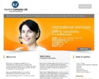 Website of one of the operators selling international premium rate numbers