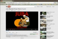 'Baghdad sniper' ('Juba') YouTube channel screenshot