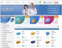 Example of a Canadian Pharmacy site
