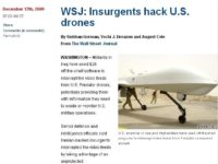 U.S. drones unprotected due to non-encrypted traffic