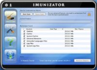 GUI of iMunizator - the infamous Mac scareware