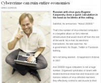 Excerpt of Kaspersky's interview about cyber attack on South Africa