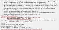 Ad server request code