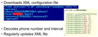'Sejweek' Trojan downloads XML file to decode phone number and interval