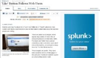 Wall Street Journal article on user tracking