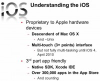 Determinative iOS features