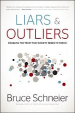 'Liars and Outliers' book cover