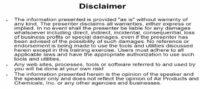 Lance's 'CYBB' disclaimer