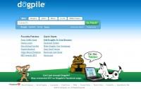 Dogpile homepage