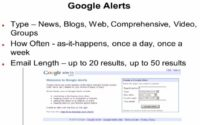 Google Alerts service helps you stay informed