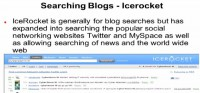 IceRocket goes beyond blog searching