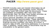 Pacer – publicly available resource for retrieving prior litigation data