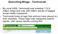 Technorati – another blogs aggregator