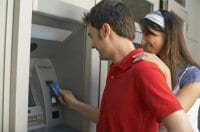 Using ATM implies trust for banking system