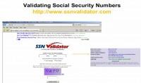 SSN lookup via SSN Validator