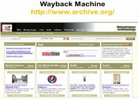 Click 'Take Me Back' to view archived site backup copy