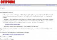 Original manual on Cryptome site