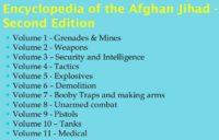Titles of 'Encyclopaedia of the Afghan Jihad' volumes