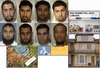 Terrorists who were charged with making the bombing plot