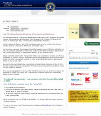 Reveton virus - fake FBI ransomware
