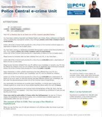 Reveton - UK ransomware