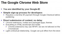 Features of the Chrome Web Store