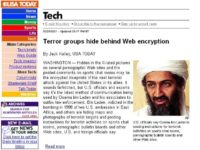 'Terror groups hiding behind Web encryption' report