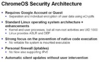 Essentials of Chrome OS security