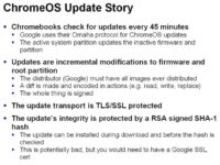 Chromebook firmware updates