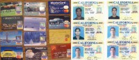 Fake credit cards and IDs
