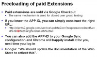 Installing paid extensions for free