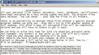 File decryption tips from criminals running GPCode fraud