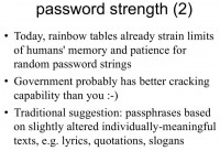 Is your password or passphrase hard for the government to crack?