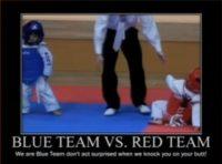 Blue Team wins