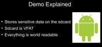 SD card data is world readable