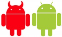 Evil vs normal Android
