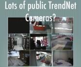 Lots of public cameras