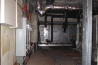 Inside the mechanical room