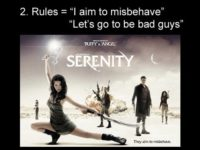 Jayson's 2 rules