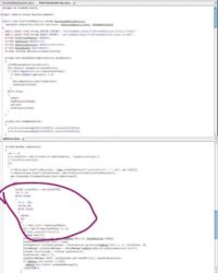 Facebook and DroidDream source codes