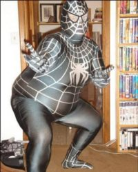 Fat superhero – proof of concept