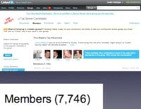 LinkedIn group of people with top secret level security clearances