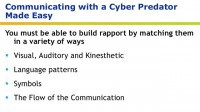Tips to follow while communicating with a cyber predator