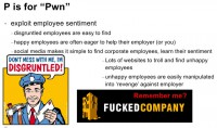 Take advantage of employee sentiment