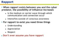 Rapport explained