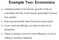 Perspectives on basic economic factors
