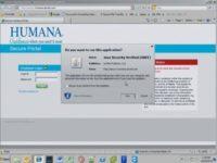 Running Java applet from fake portal